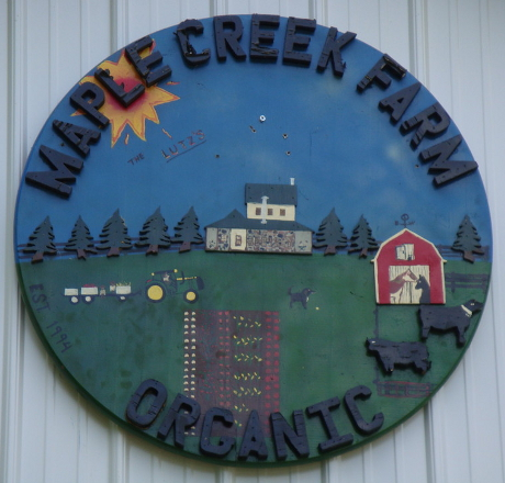 Maple Creek Farm Sign